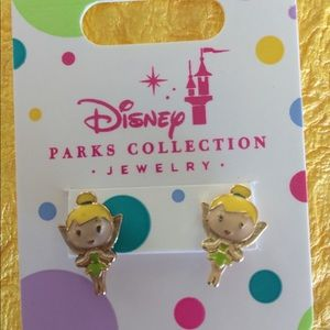 Disney Tinkerbell Girls  Pierced Earrings